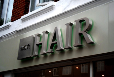 hairdressers sign